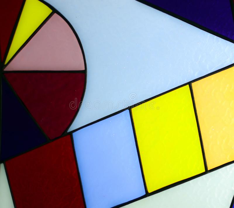 Colorful glass mosaic background royalty free stock images