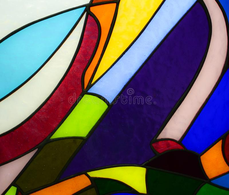 Colorful glass mosaic background royalty free stock image