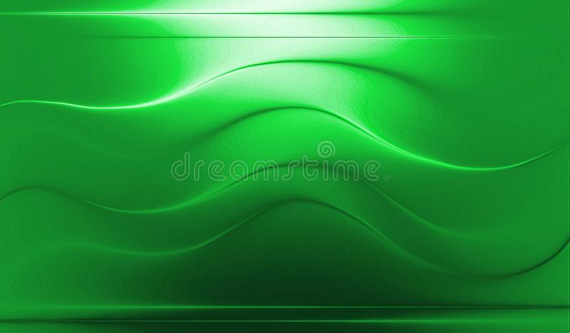 Colorful ,wavy , glossy,shaded and lighted with 3 d effect computer generated background image and wallapaper design. Colorful ,wavy , glossy, shaded and lighted stock illustration
