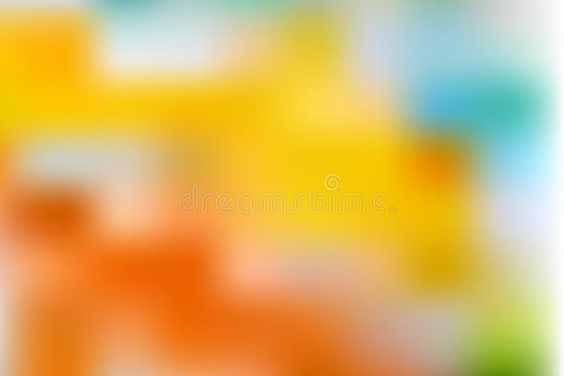 Colorful gradient mesh background in bright colors. Abstract blurred smooth vector illustration vector illustration