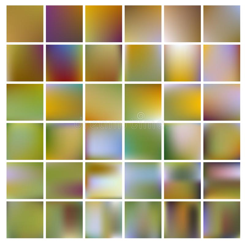Colorful gradient mesh background in bright rainbow colors. Abstract blurred smooth image. stock photos