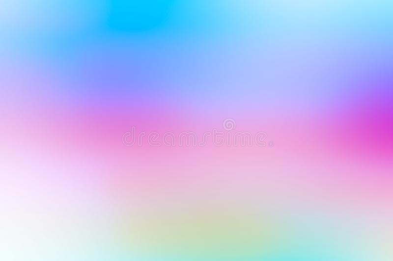 Colorful gradient mesh background in bright rainbow colors. Abstract smooth blurred texture royalty free stock photos