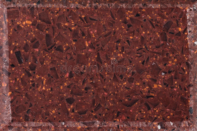 Colorful granite texture. Polished red granite texture. Stone surface background royalty free stock photo
