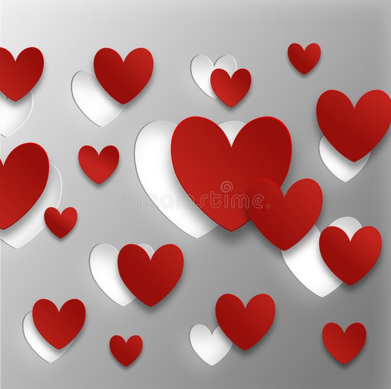 Download Valentines Day Greeting Card Stock Illustration - Image: 29710378