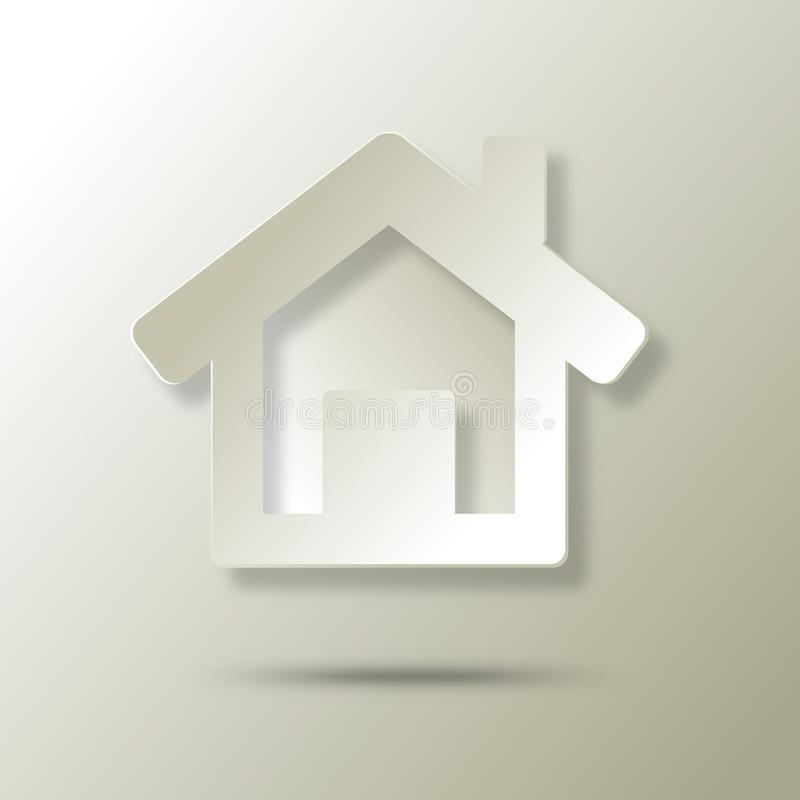 Download Ecological House  Abstract Icon Stock Illustration - Illustration of creation, corporation: 29757790