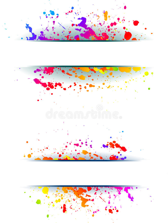 Colorful grunge backgrounds. vector illustration