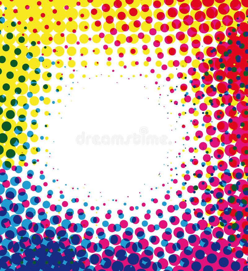 Free Colorful Halftone Royalty Free Stock Images - 10123339