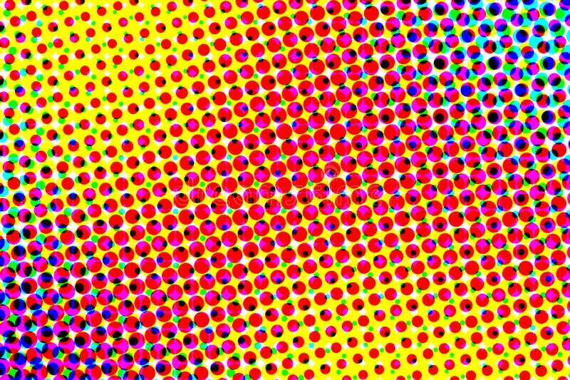 Colorful halftone background and texture. illustration stock illustration