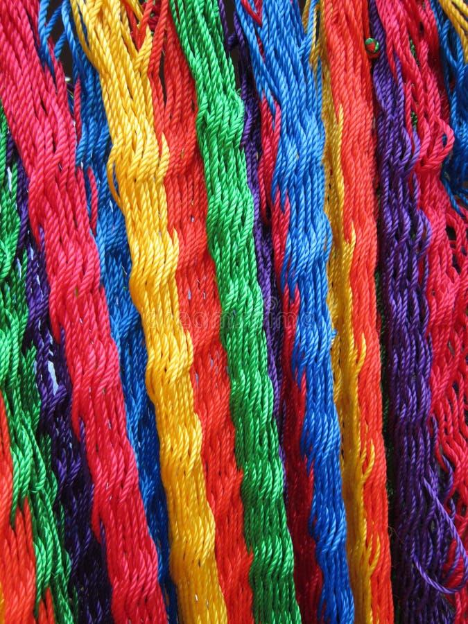 Free Colorful Hammock Strands Royalty Free Stock Photo - 25896245