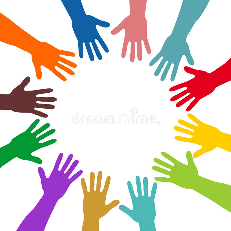 Download Colorful hands stock photo. Image of church, decoration - 29892382
