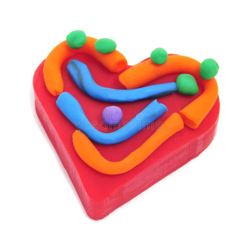 Download Colorful heart stock photo. Image of orange, congratulate - 25929814