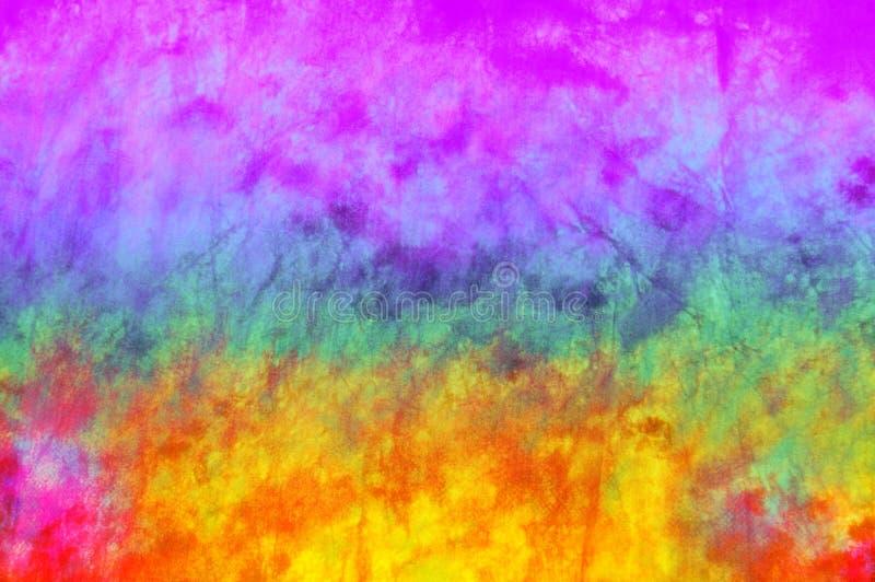 Colorful hippy bacground stock illustration