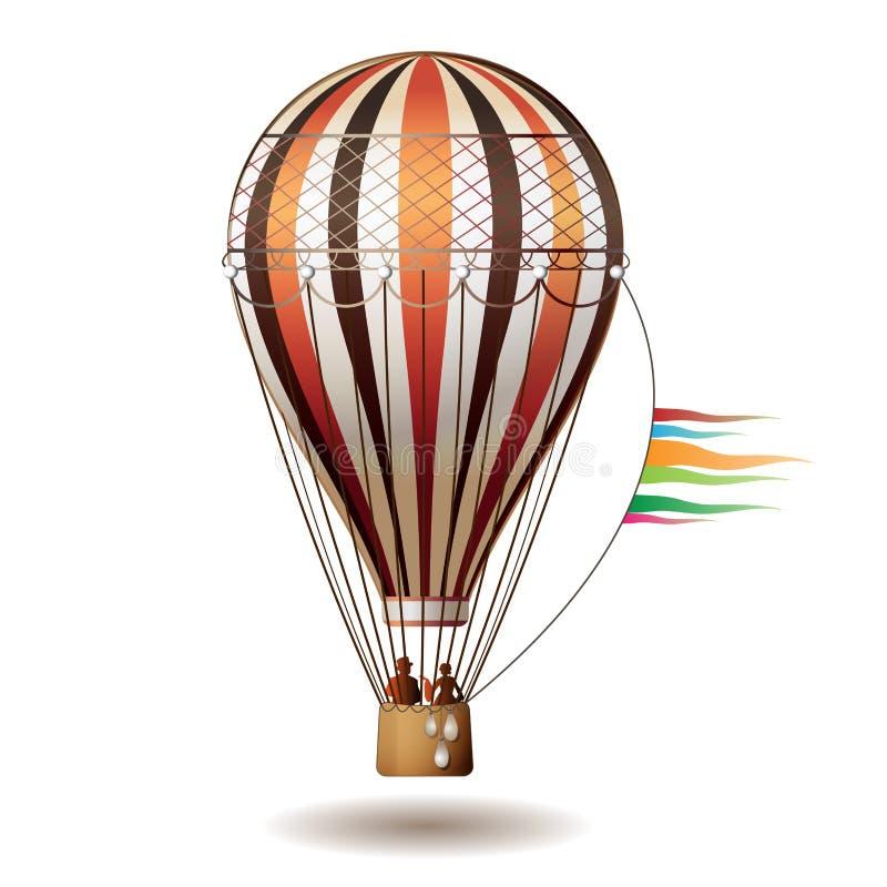 Free Colorful Hot Air Balloon Royalty Free Stock Photo - 17779775
