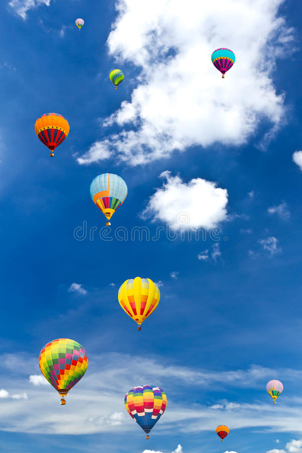 Free Colorful Hot Air Balloon Stock Photography - 18151672