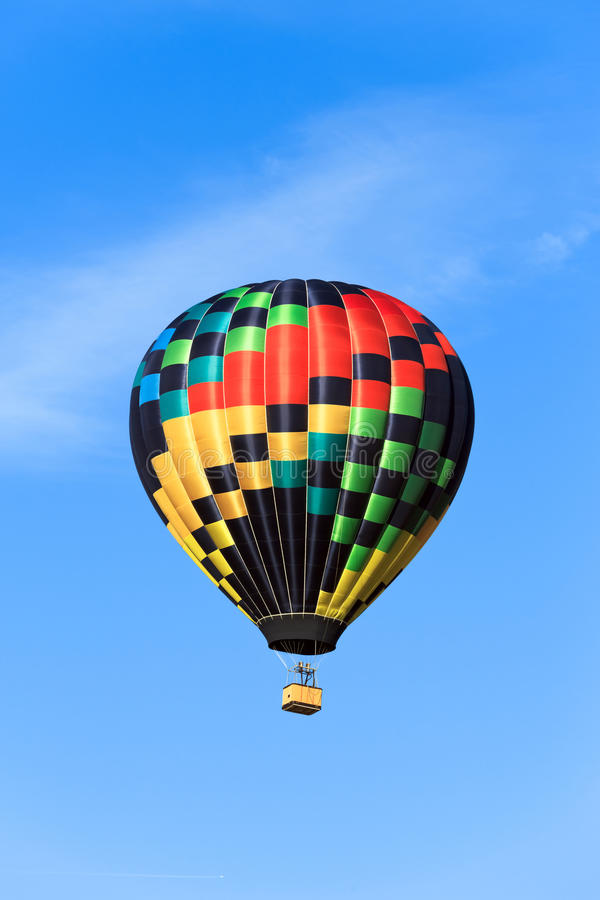 Download Colorful hot air balloon stock photo. Image of ballooning - 26862658