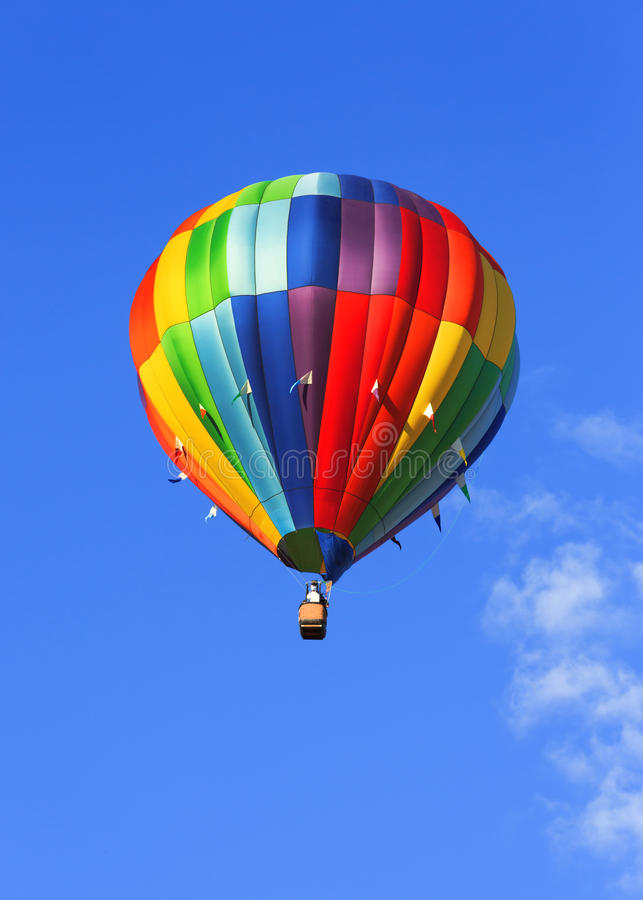 Download Colorful hot air balloon stock photo. Image of ride, sport - 28370764