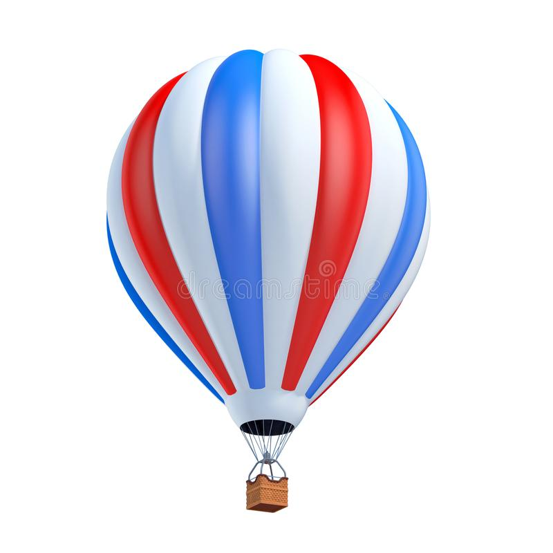 Free Colorful Hot Air Balloon 3d Illustration Stock Image - 109821861