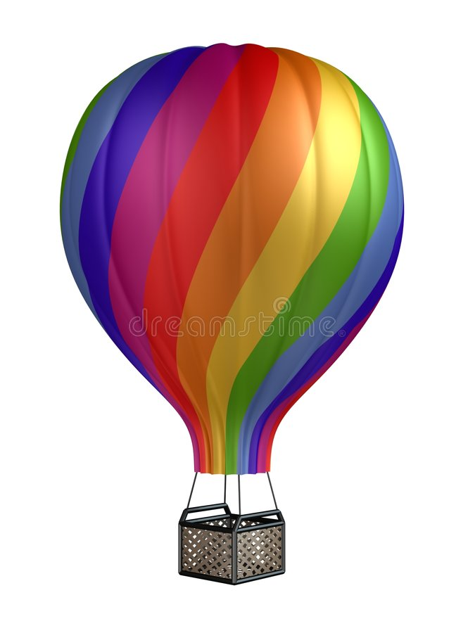 Free Colorful Hot Air Balloon Royalty Free Stock Images - 7067809