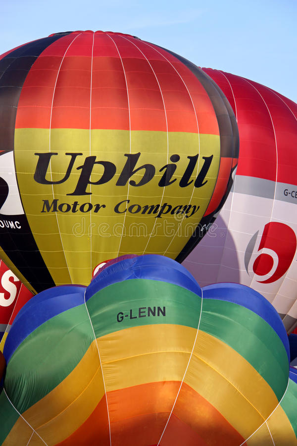Download Colorful hot air balloons editorial stock image. Image of bristol - 14862009