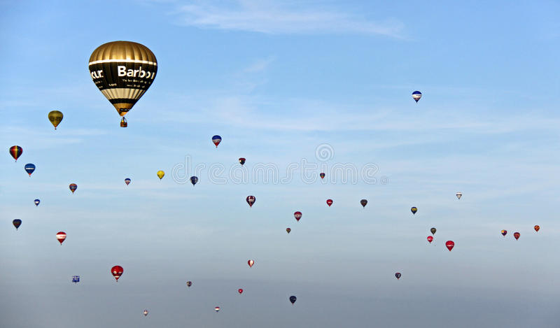 Download Colorful hot air balloons editorial photo. Image of pretty - 14862491