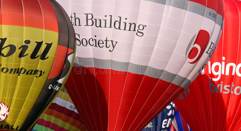 Download Colorful hot air balloons editorial stock image. Image of balloon - 14862679