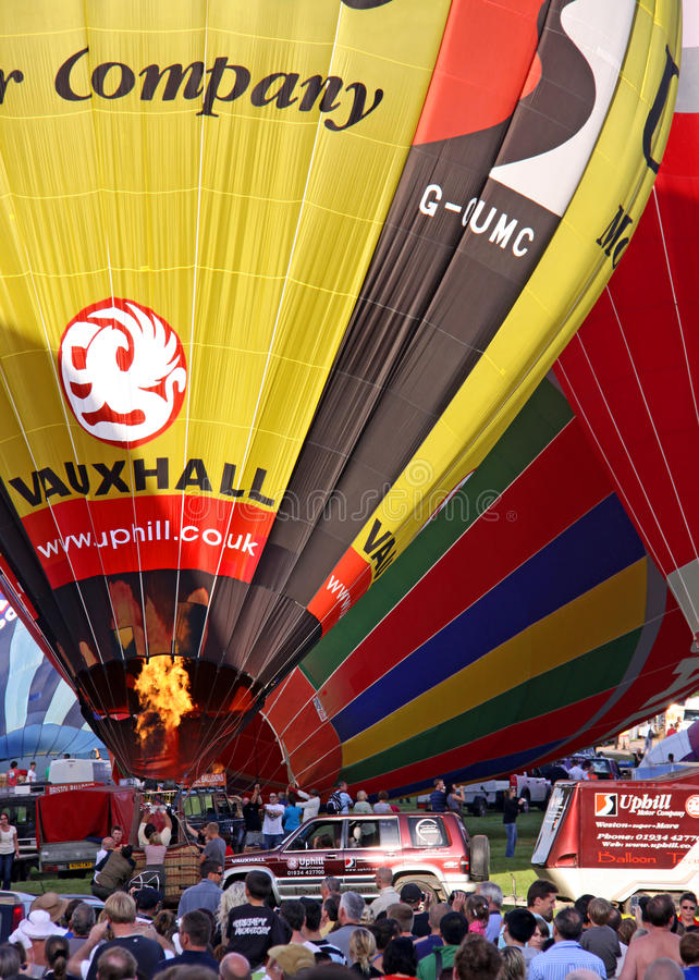 Download Colorful hot air balloons editorial stock image. Image of pattern - 14862789