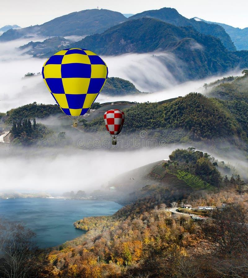 Colorful Hot Air Balloons Royalty Free Stock Photos