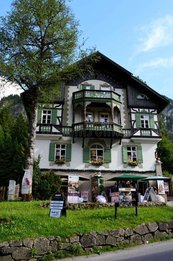 House in Bavaria royalty free stock photos