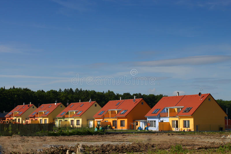 Download Colorful Houses Royalty Free Stock Images - Image: 14523889