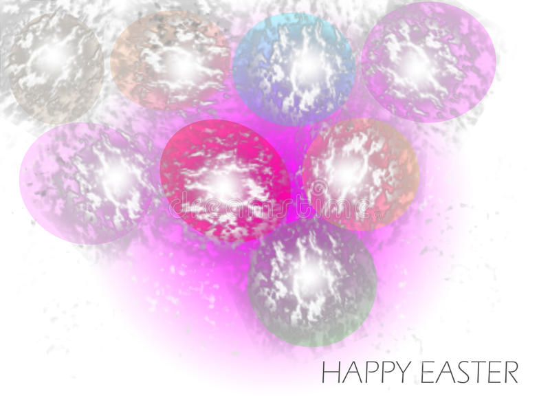 Easter color stock image