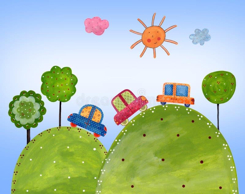 Download Colorful illustration stock illustration. Illustration of fantasy - 22095163