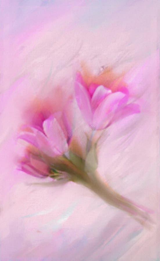 Free Colorful Illustration In Light Purple, Blue, Pink Spring Flowers - Crocus . Elegant Background. Stock Image - 177685271