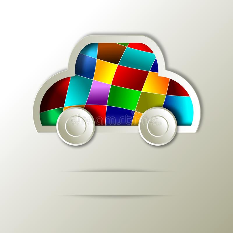 Download Car. Abstract icon design stock illustration. Image of clean - 30300895