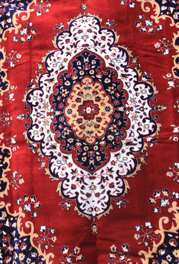 Indian Carpet-1. stock photo