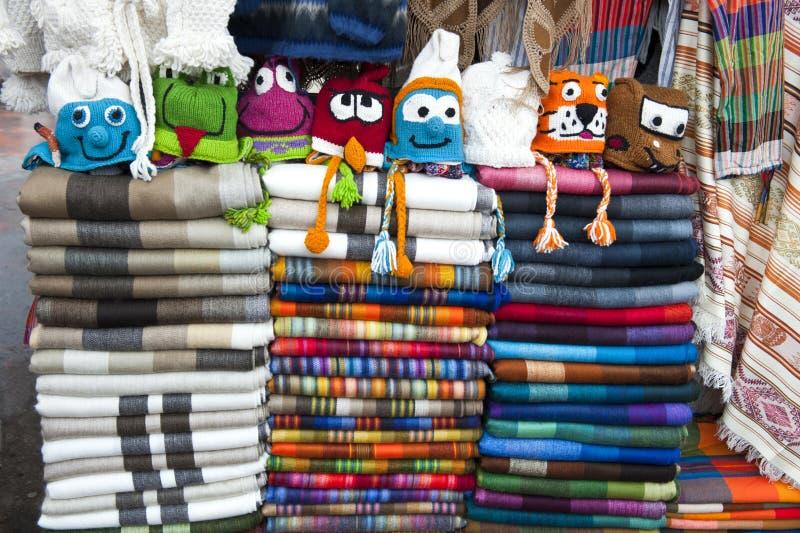 Download Colorful Indigenous Market Of Otavalo Stock Photo - Image: 23306660