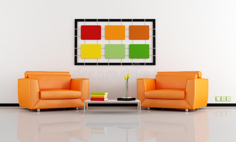 Download Colorful interior stock illustration. Image of lifestyle - 25359499