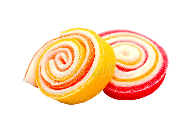 Colorful jelly candies. stock photography