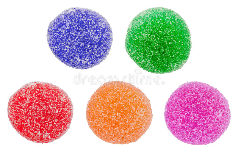 Colorful Jelly royalty free stock image