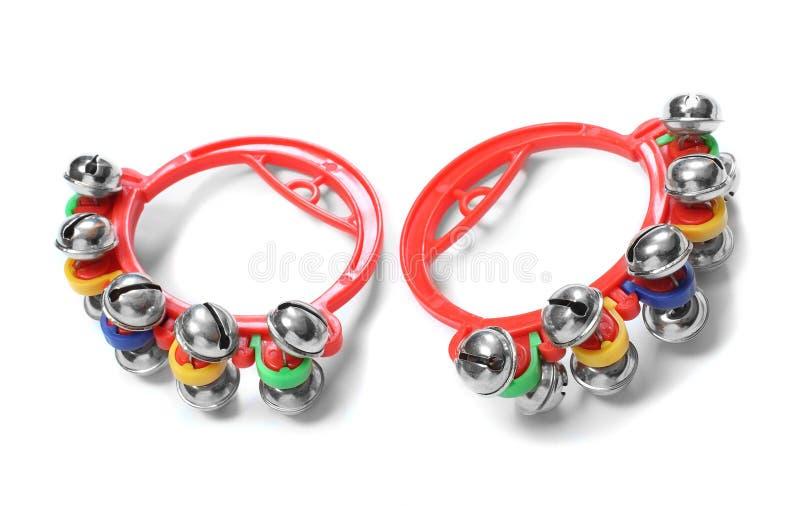 Colorful jingle bells. stock image