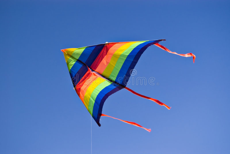 Download Colorful kite stock image. Image of windy, kite, relax - 6617093