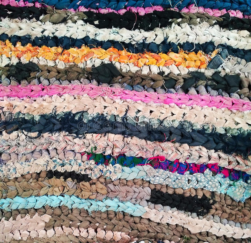 Colorful knitted pattern royalty free stock image