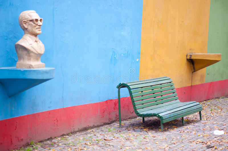 Colorful La Boca, Buenos Aires royalty free stock photography
