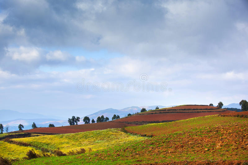 Download Colorful land in highland stock image. Image of 2600 - 22047047