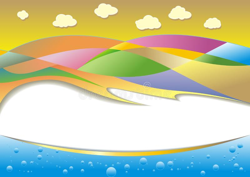 Download Colorful landscape stock vector. Illustration of pure - 9418517