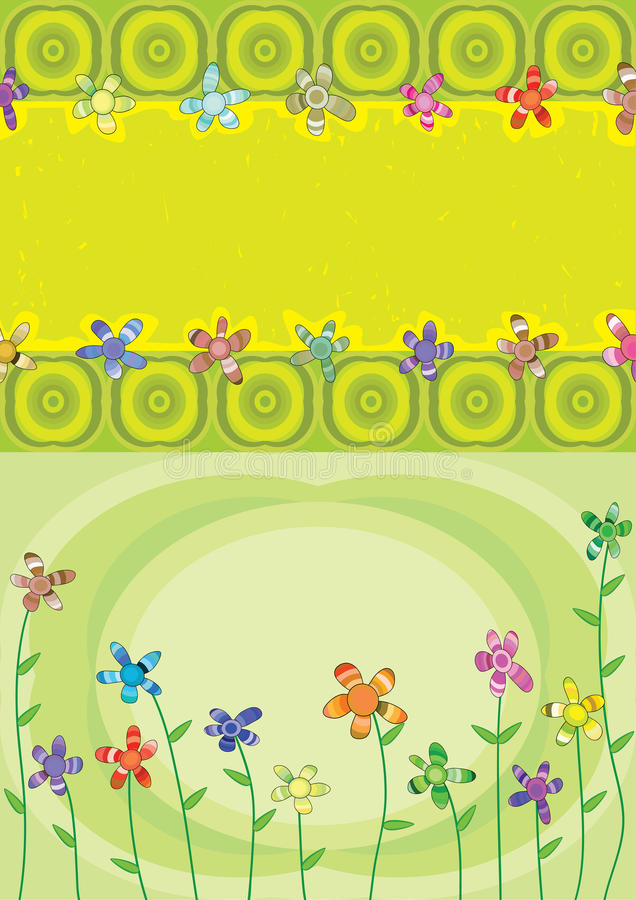 Download Colorful Layers Flower Blowing_eps Stock Photos - Image: 19050923