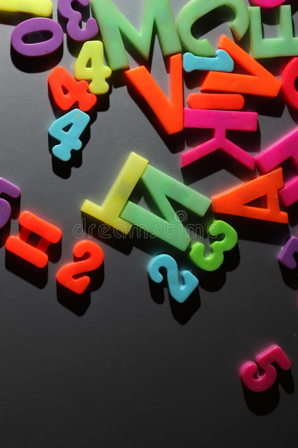 Download Colorful letters stock photo. Image of grey, alphabet - 26834958