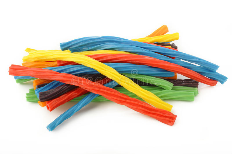 Colorful licorice candy royalty free stock image