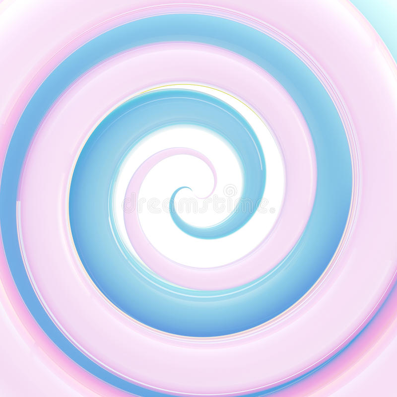 Download Colorful Light Blue Glossy Twirl Background Stock Illustration - Image: 25436326