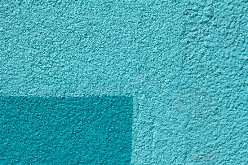 Colorful light and dark blue painted wall royalty free stock photo