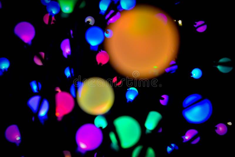 colorful lights στοκ φωτογραφία με δικαίωμα ελεύθερης χρήσης